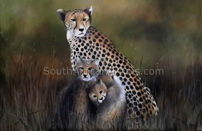 """Cheetah Family"""
