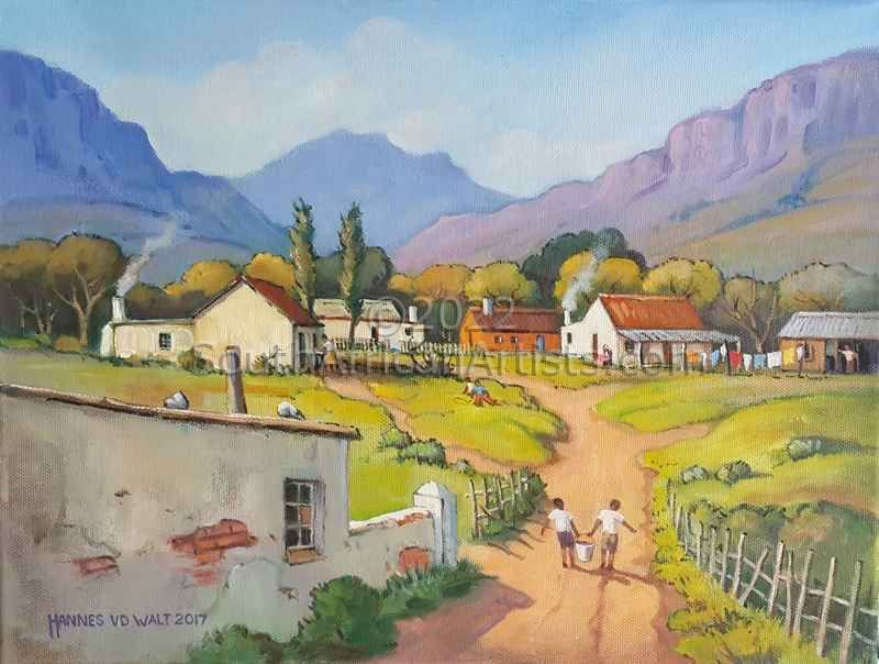 """South African Rural Charm"""