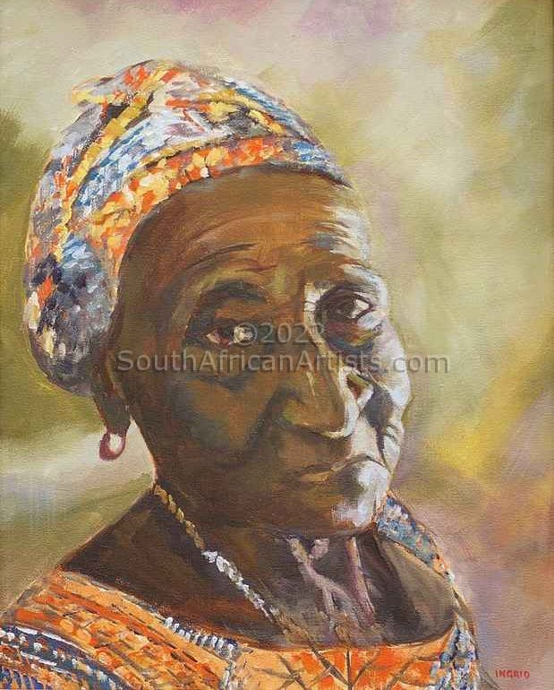 """Lady from Guinea Bissau 3"""