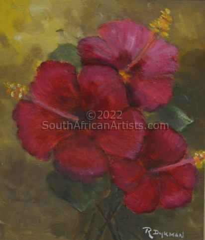 """Red Hibiscus"""