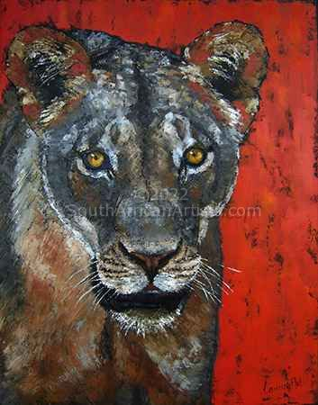 """Pride of Africa: Lioness"""