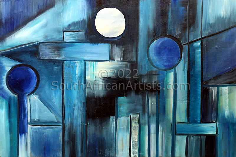 """Symphony in Blue"""