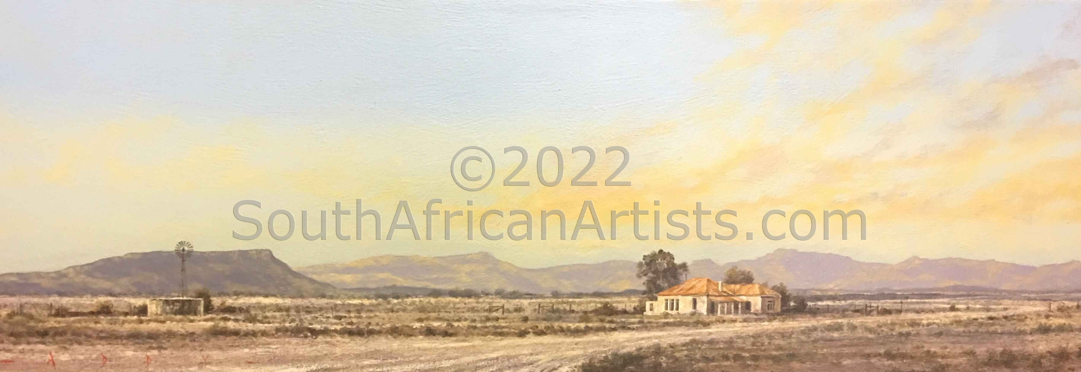 """Late Afternoon Homestead"""