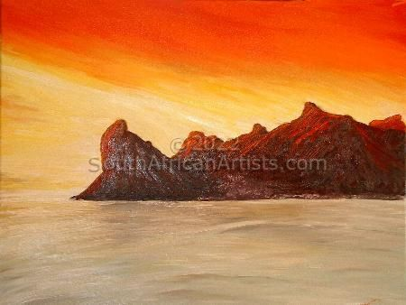 """Hout Bay Sunset"""