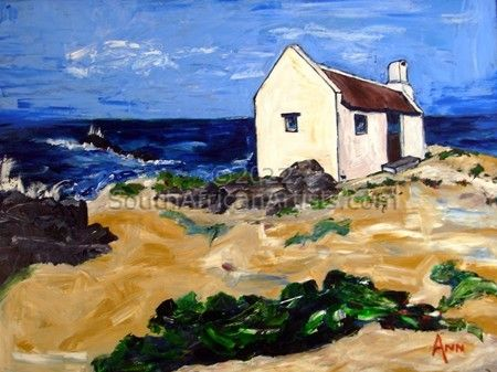 """Fisherman's Cottage On A Dune"""