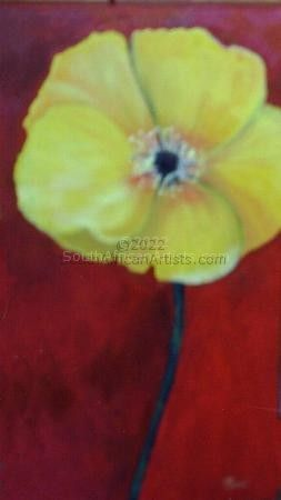 """Yellow Poppie"""