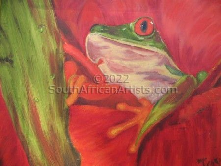 """Colorful Frog"""
