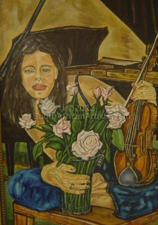 """Girl With Violin"""