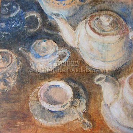 """Magdaleen's Teapot Collection 6"""