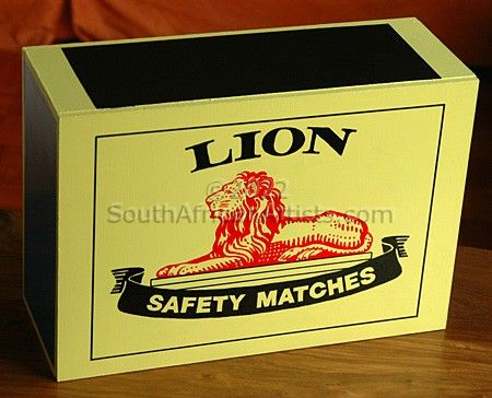 """Lion Match Box"""
