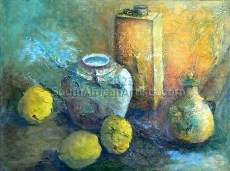 """Still Life with Quinces"""