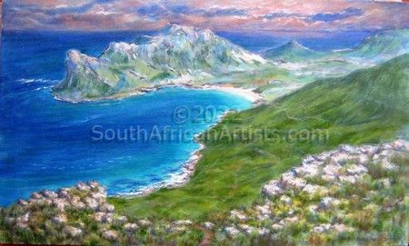 """View over Hout Bay"""