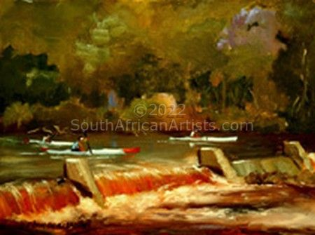 """Paddling the Weir"""