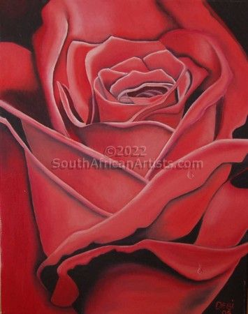 """Rose in Red"""