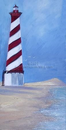 """Lonely Lighthouse"""