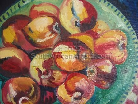 """Still Life with Nectarines"""