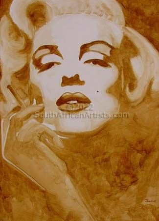 """Coffee with Marilyn"""