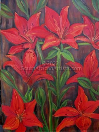 """Red Lilies"""