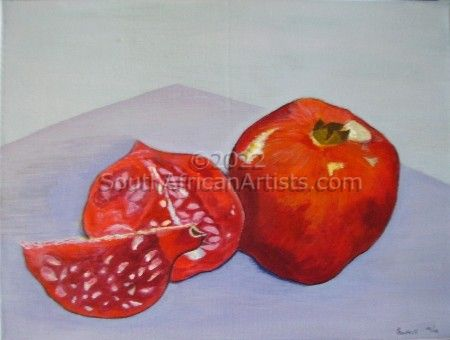 """Still Life with Pomegranate"""