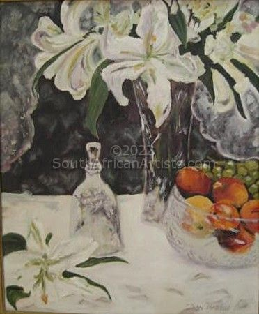 """Still life with lilies"""