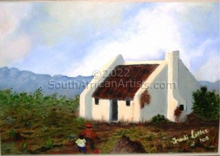 """southern cape cottage"""