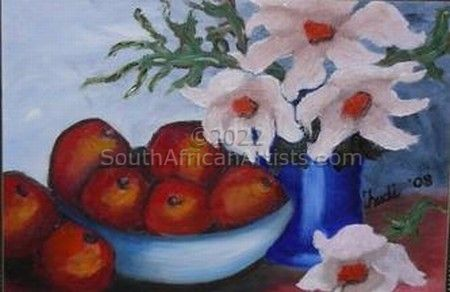 """Flowers and Fruit"""