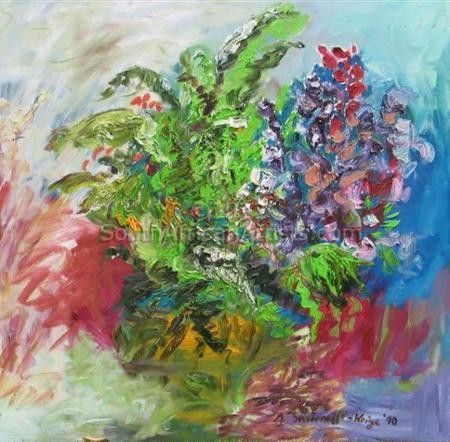 """Ferns and Flowers"""
