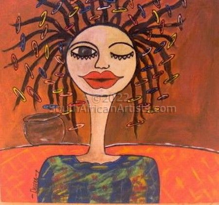 """Lady of Africa 03"""