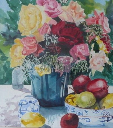 """Still Life with Roses"""