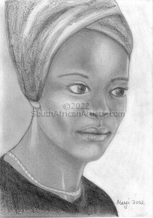 """African Woman"""