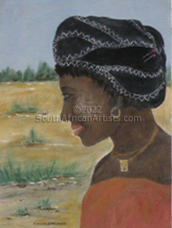 """African Lady"""