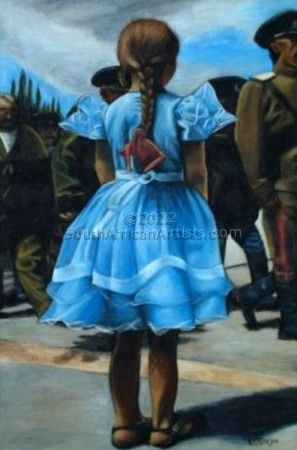 """Little Cossack Girl"""