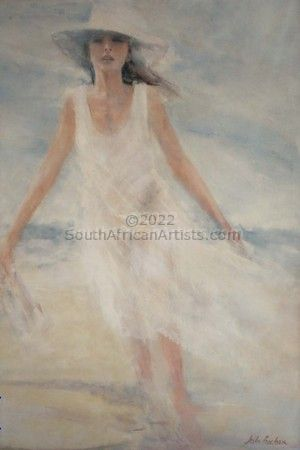"""Lady on Beach"""