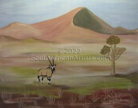 """Solitary Oryx"""