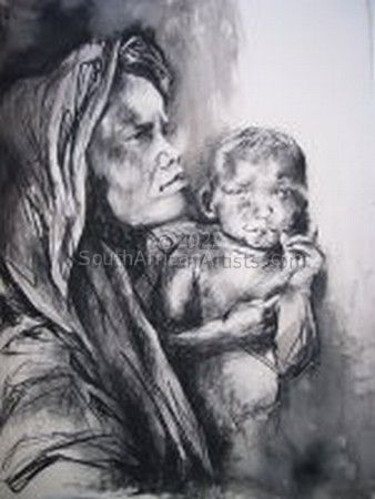 """Lady With Baby"""
