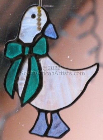"""Stained Glass Duck"""