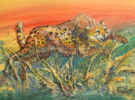 """Cheetah on the Attack"""