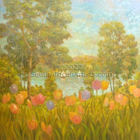 """Tulips and Sailing Boats"""