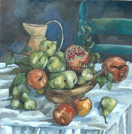 """Jug With Fruits"""