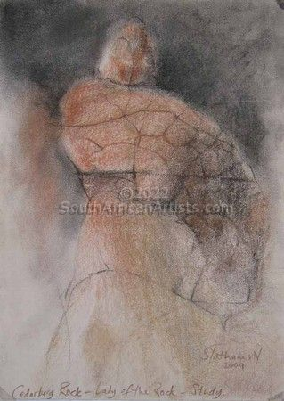 """Study-Cederberg -Lady Of The Rock"""
