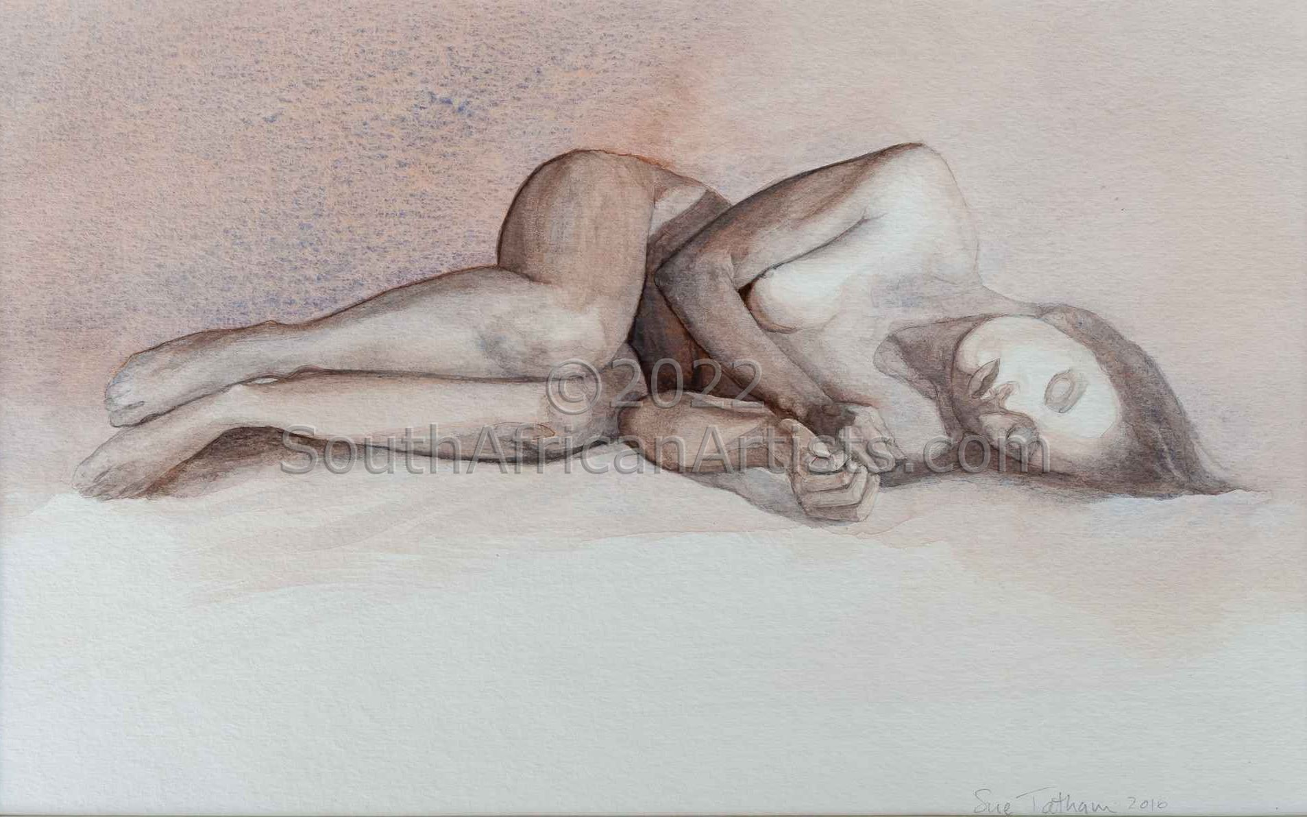"""Reclining Nude 2"""