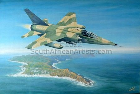 """SAAF Mirage F1-Z - Cape Point Plus 30 000ft"""
