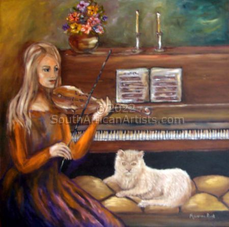 """Cat and Piano"""