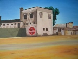 """Deserted Shop in Mozambique"""