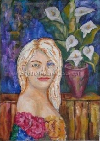 """Lady with Lilies"""