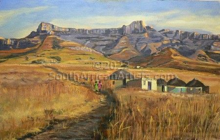 """The People of the Drakensberg"""
