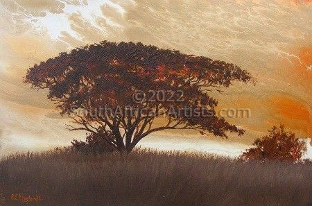 """African Sunset"""