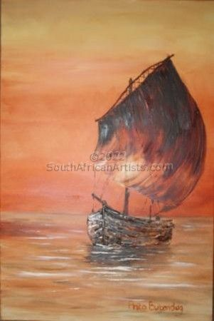 """Sunset Dhow"""