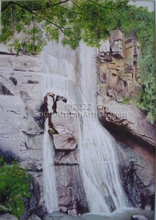 """Madonna and Child Waterfall"""
