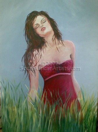 """Lady in Grass"""